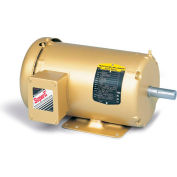 Baldor-Reliance HVAC Motor, EM3546T-5G, 3 PH, 1 HP, 575 V, 1800 RPM, TEFC, 143T Frame