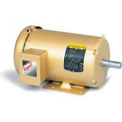 Baldor-Reliance HVAC Motor, EM3546T-G, 3 PH, 1 HP, 208-230/460 V, 1760 RPM, TEFC, 143T Frame