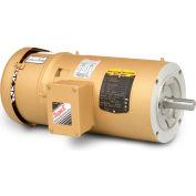Baldor-Reliance Motor VEBM3615T, 5HP, 1750RPM, 3PH, 60HZ, 184TC, 3643M, TEFC, F1