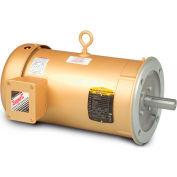 Baldor-Reliance 3-Phase Motor, VEM3546-5, 1 HP, 1800 RPM, 56C Frame, C-Face Mount, TEFC, 575 Volts