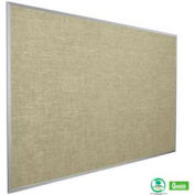 "Balt® Vin-Tak Tackboard with Aluminum Trim 36""W x 24""H, Cotton"