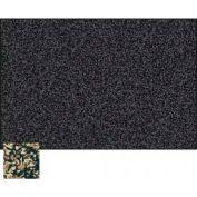 "Balt® Rubber-Tak Tackboard with Black Ultra Trim 48""W x 36""H Tan"