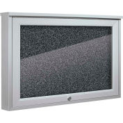 "Balt® Weather Sentinel Outdoor Enclosed Cabinet - Rubber-Tak Surface - 24""W x 18""H Black"