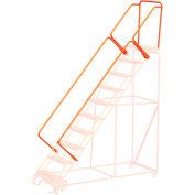 "CAL-OSHA 42"" Handrail Kit pour 5 à 9 étapes - Orange - CAL-O-5-9 STEPS"