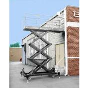 Option d'alimentation air commande hydraulique pour les plates-formes élévatrices de hydraulique-actionné