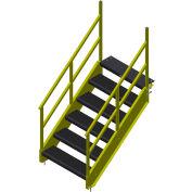 Bluff 73» escalier de OSHA, STAIR36O-8-73