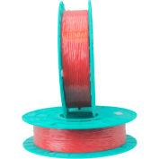 """Rubans Tach-It Paper/Plastic Standard Twist Tie, 2500'L x 5/32""""W, Rouge"""