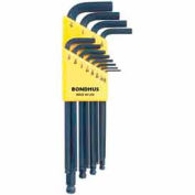 "Bondhus 10936 Set 12 Balldriver L-wrenches .050""-5/16"""