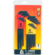 Bondhus 20199 22PC. Balldriver SAE & Metric Hex Key Set