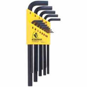 "Bondhus 12137 Set 13 Hex L-wrenches .050""-3/8"" - Long"