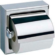 Bobrick® Surface Mounted Single Tissue Dispenser w/ Hood - B-6699
