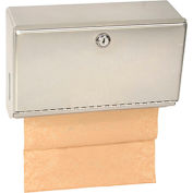 Bobrick® ClassicSeries™ Horizontal Towel Dispenser w/ Tumbler Lock - 26212
