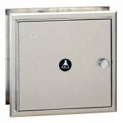 Bobrick® Recessed Specimen Pass-Thru Cabinet, Satin