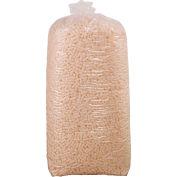 Cacahuètes biodégradables en vrac pour 14 pieds³ taille de sac, blanc