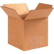 "Cube Cardboard Corrugated Boxes 4"" x 4"" x 4"" 200#/ECT-32 - Pkg Qty 25"