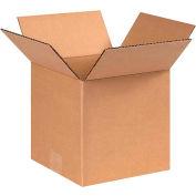 "Global Industrial™ Cube Cardboard Corrugated Boxes, 8""L x 8""W x 8""H, Kraft - Pkg Qty 25"