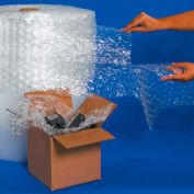"""UPSable Bubble Rolls 24"""" x 188' x 5/16"""", Perforated, Clear, 2/PACK"""