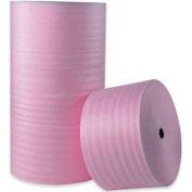 """Anti-Static Air Foam Rolls 18""""W x 250'L, 1/4"""" Thickness, Pink, 4 Rolls Pack"""