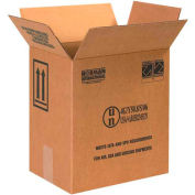 """Haz Mat Boxes For 1 Gal. F Style Paint Can, 11-3/8""""L x 8-3/16""""W x 12-3/8""""H, Kraft, 20/Pack"""