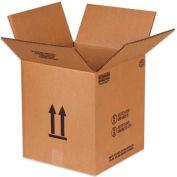 "Haz Mat Boxes Pour 5 Gal. Seau en Métal, 12-1/8""L x 12-1/8""W x 13-9/16""H, Kraft, 10/Pack"