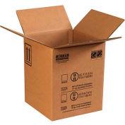 """Haz Mat Boxes Pour 5 Gal. Seau en plastique, 12-1/2""""L x 12-1/2""""W x 15-1/8""""H, Kraft, 10/Pack"""