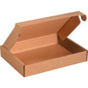 """Corrugated Tab Lock Literature Mailers 11-1/8"""" x 8-3/4"""" x 2"""" 200#/ECT-32 Kraft - Pkg Qty 50"""