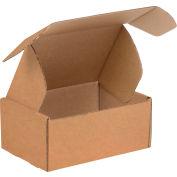 """Corrugated Tab Lock Literature Mailers 9"""" x 6-1/4"""" x 2"""" 200#/ECT-32 Kraft - Pkg Qty 50"""