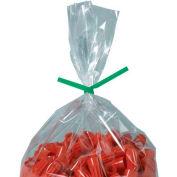 "Paper Twist Ties 4"" x 5/32"" Green 2000 Pack"