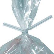 """Cravates Twist papier, 6""""L x 5/32""""W, Blanc, 2000 Pack"""