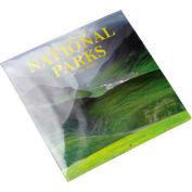 "PVC Shrink Bags, 100 Ga., 24""W x 24""L, Clear, 100/Pack"
