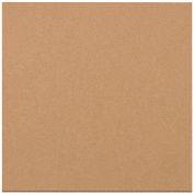 """Corrugated Layer Pads, 7-7/8""""L x 7-7/8""""W, Kraft - Pkg Qty 100"""