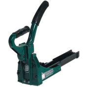"""Hand Clincher Carton Stapler for 5/8"""" Staples, 150 Staples Capacity, Green & Black"""