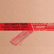 "Tape Logic® Secure Tape 2"" x 60 Yds. 2.5 Mil Red 1 Pack"