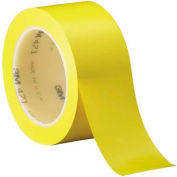 "3M™ Solid Vinyl Tape 4711"" x 36 Yds 5.2 Mil Yellow - 6/PACK"