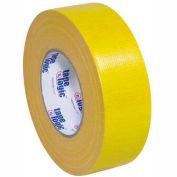 """Ruban Logic® chiffon Duct Tape, 2 """"x 60 vgs, 10 Mil, jaune - 3/paquet"""