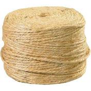 Sisal Twine, 2 Ply, 1460'L, 360 Lbs. Tensile Strength, Natural