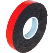 "3M 5952 Double Sided VHB Acrylic Foam Tape 1/2"" x 5 Yds 45 Mil Dark Gray"