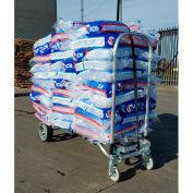 B & P Fabrication Liberator Convertible Ice Hauling Hand Truck avec roues en polyuréthane