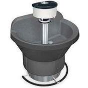 Bradley Corp® Wash Fountain, Semi Circular, 54 In Wide, Series WF2804, 4 Person