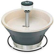 "Bradley Corp® Wash Fountain, Circular, 54"" Wide, Series WF2808, 8 Person Sink"