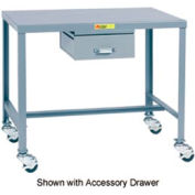 Little Giant®   Machine Table, 24 x 36 x 36, Swivel Casters w/Brakes