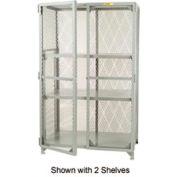 Little Giant®  All Welded Storage Locker, 1 Center Shelf, 30 x 48