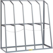 "Little Giant® BR-2460-60 Vertical Bar Rack 24""D x 60""W x 60""H - 5 Bays, 1500 LB Cap. Per Bay"