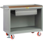 """Little Giant MH-2448-HDFL  48"""" W Mobile Bench Cabinets, Heavy-Duty Drawer, Hardboard Top"""
