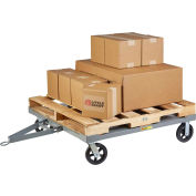 Little Giant® Towable Solid Deck Pallet Dolly PDCS-40-8MR - 2400 Lb. Cap. - 48 x 40