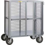 Petit Giant® Job Site sécurité boîte camion avec central réglable plateau SC-A-3048-10SR, 30 x 48