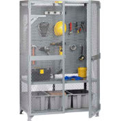 """Little Giant® Tool Storage Cabinet w/Pegboard, 61""""W x 27""""D x 78""""H"""