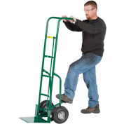"""Little Giant® 60"""" Tall Hand Truck with Foot Kick TF-370-10P - 10"""" Pneumatic"""