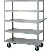 Little Giant® Multi-Shelf Truck 5M-3048-6PH, 5 Flush Shelves, 30 x 48