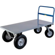 Little Giant® High Deck Cushion Load Platform Truck BB3072B - 30 x 72 - 2500 Lb. Capacity